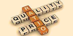 Dedicated to price-quality ratio